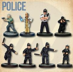 Police Starter Cast (2nd Printing)