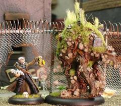 Grave Golem & Caretaker