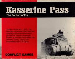 Kasserine Pass - The Baptism of Fire (3rd Printing, Large Box)