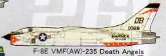 F-8E Crusader (VMF(AW)-235 Death Angels)