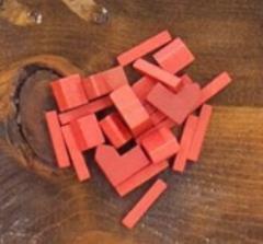 Catan Wood Base Set - Red