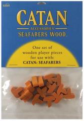 Catan Seafarers Wood Base Set - Orange