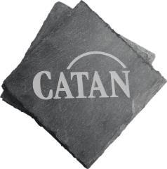 Catan - Slate Coasters