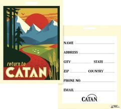 Catan - Luggage Tag