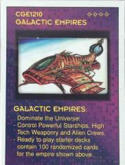 Galatic Invaders - Gekonauak Starter Deck