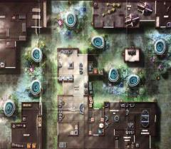 Double-Sided Map - Clan Hall/Planetary Command