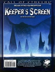 Keeper's Screen w/Mythos Vale Mecum Poster