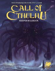 Call of Cthulhu - Keeper Rulebook (7th Edition)