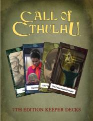 Call of Cthulhu Keepers Decks (7th Edition) (4)