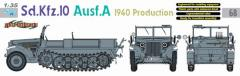 Sd.Kfz.10 Ausf.A - 1940 Production