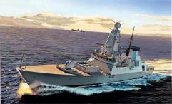 H.M.S. Daring Type 45 Destroyer