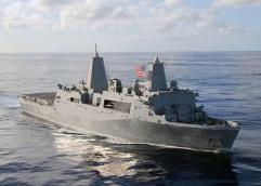 U.S.S. San Antonio LPD-17 w/MV-22B