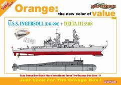 U.S.S. Ingersoll (DD 990) vs. Delta III SSBN