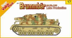 "Sd.Kfz. 166 ""Brummbar"" - Late Production w/Crew"