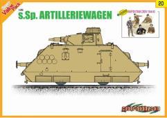 s.Sp.Artilleriewagen w/Waffen Tank Crew