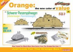 Schwerer Panzerspahwagen Kommandowagen/Infanteriewagen w/Crew