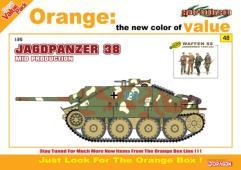 Jagdpanzer 38 (Hetzer) - Mid Production w/Ardennes 1944 Figure Set