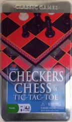 Checkers, Chess, & Tic-Tac-Toe