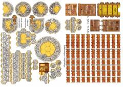 Walls Under Construction, Scaffoldings, & Siege Tower Bundle (1st Edition)