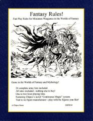 Fantasy Rules! (1st Edition)