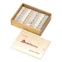 Double Twelve Standard Dominoes (Set of 91)