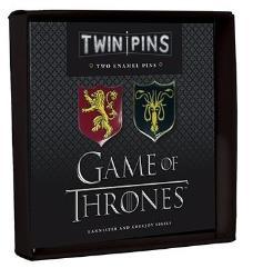 Twin Pins - Lannister and Greyjoy Sigils
