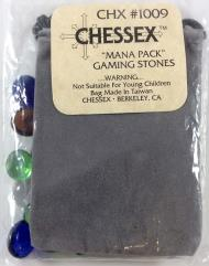 Mana Pack Gaming Stones w/Grey Velour Bag (40)