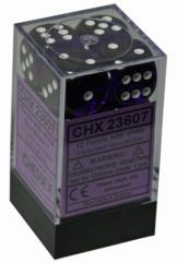 d6 16mm Purple w/White (12)
