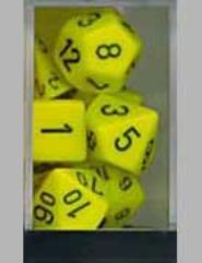 Poly Set Yellow w/Black (7)