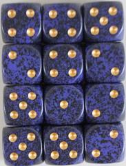 d6 16mm Golden Cobalt (12)