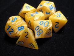 Poly Set Yellow w/Blue (7)