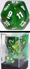 Poly Set Green w/White (7)