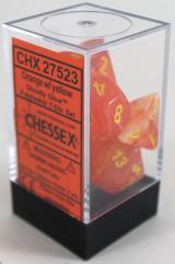 Poly Set Orange w/Yellow (7)