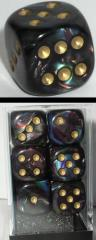 D6 16mm Shadow w/Gold (12)