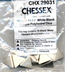 d4 Blank White (10)