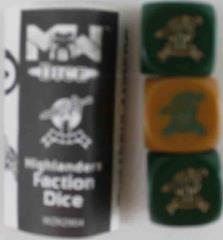 Highlanders Faction Dice