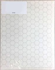 """Double-Sided 19mm Hex Mapping Sheets - 22"""" x 34"""""""