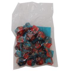 Gemini Assortment Red & Teal w/Gold (20)