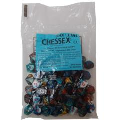 Gemini Polyhedral D10 Assorted Dice (50)