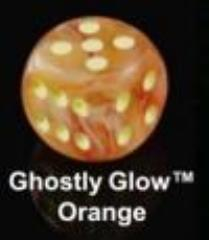 Ghostly Glow Polyhedral Orange w/Yellow (20)