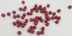 d6 16mm Red w/Bronze (60)