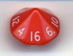 D16 Opaque Red