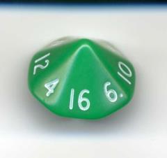 D16 Opaque Green