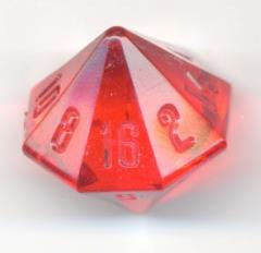D16 Translucent Red