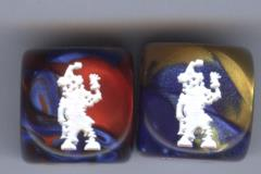 D6 16mm Zombie Clown Combo (10)