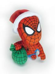Super Deformed Plush - Santa Spider-Man