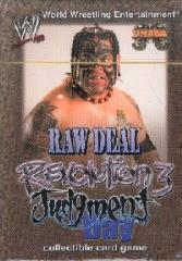 Revolution 3 - Judgment Day, Umaga