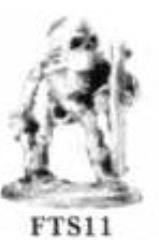 Dwarf Skeleton wDagger & Shield