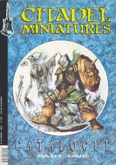 Citadel Miniatures Catalogue 1988 - Part One