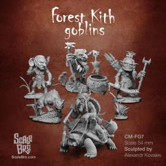 Forest Kith Goblins - All Miniatures